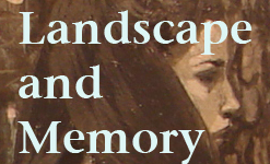 Landscape and Memory paintings at Sliding Door Gallery